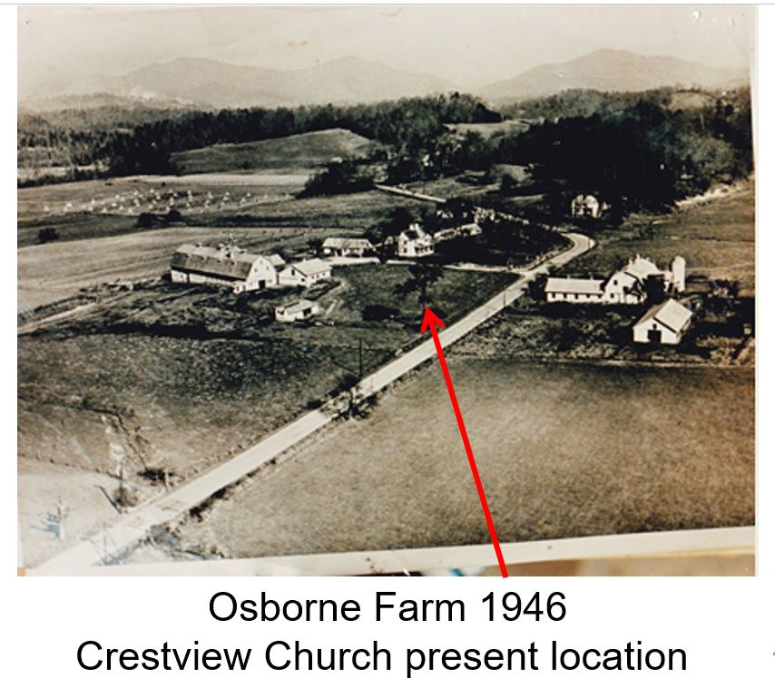 Crestview Baptist Current Location - Osborne Farm 1946.JPG